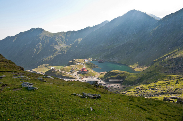 Hiking Trail at Balea Lake. Photo: Horia Varlan