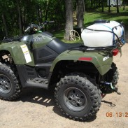 Arctic Cat 550 ATV with Fimco Sprayer
