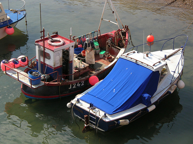 Fishing boats at dock. Photo: David James Ovens