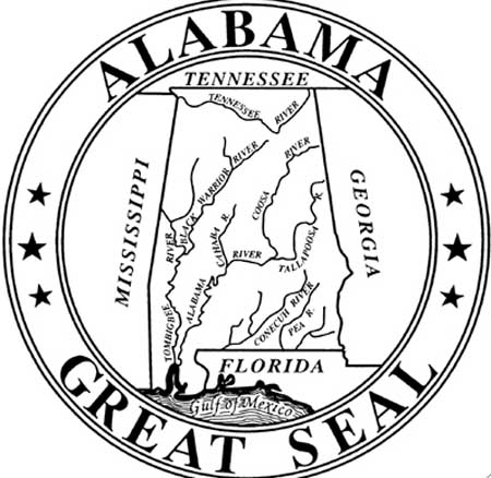 Alabama Great Seal Logo