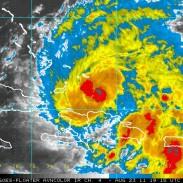 Hurricane Irene Radar Image