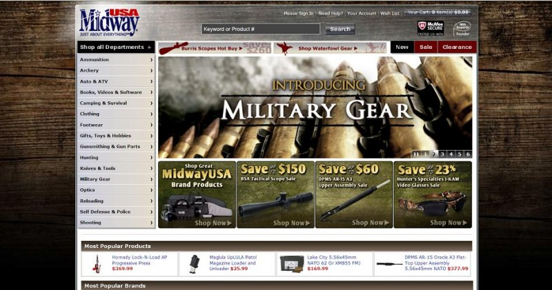 40-MidwayUSA Launches New Homepage-