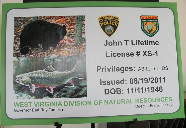 new senior lifetime hunting and fishing license available
