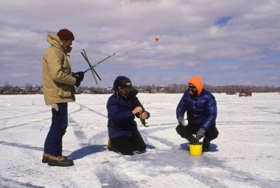 Vermont Ice Fishing Opportunities Are Great Where Ice Is