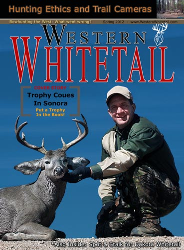 Western Whitetail magazine cover with hunter, Scott Haugen.