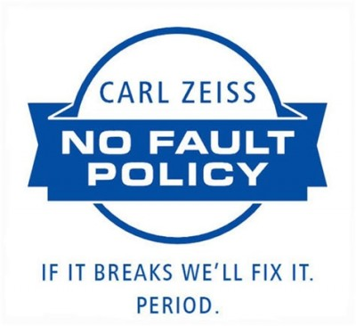 ZEISS No Fault Policy - LOGO