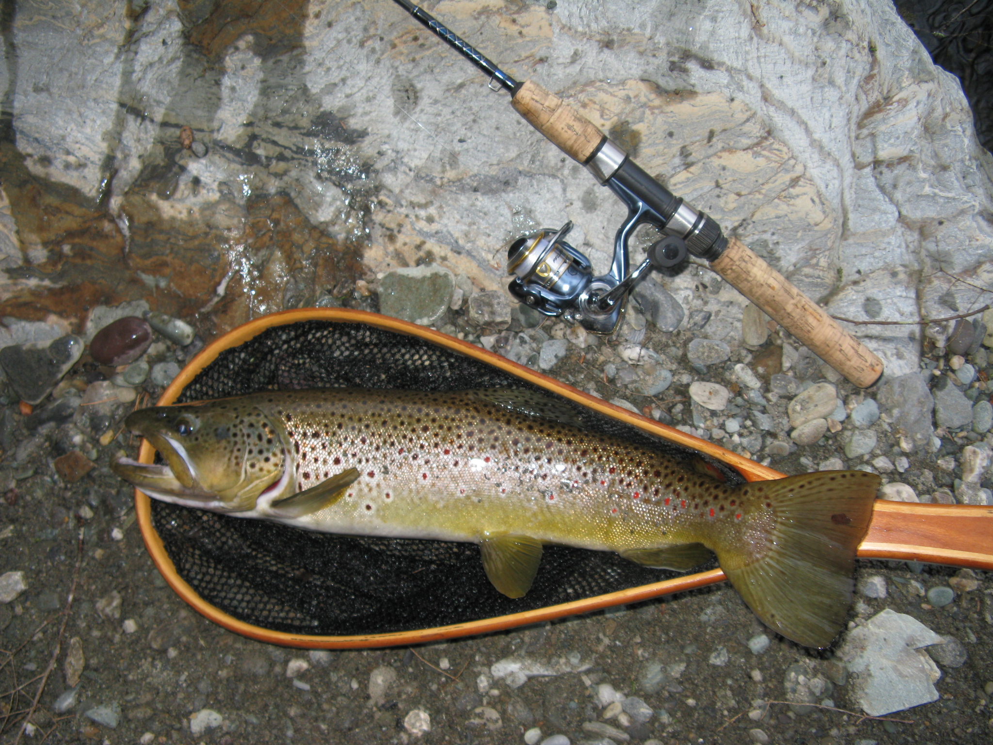 Many vermont streams producing good trout fishing outdoorhub for Vermont trout fishing
