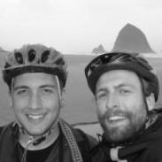 Zach Chase, left, and Kris McNeil. Photo: Bigwaterbike.com