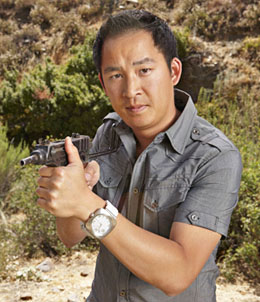 Chris Cheng is Season 4's Top Shot - photo courtesy of History Channel.