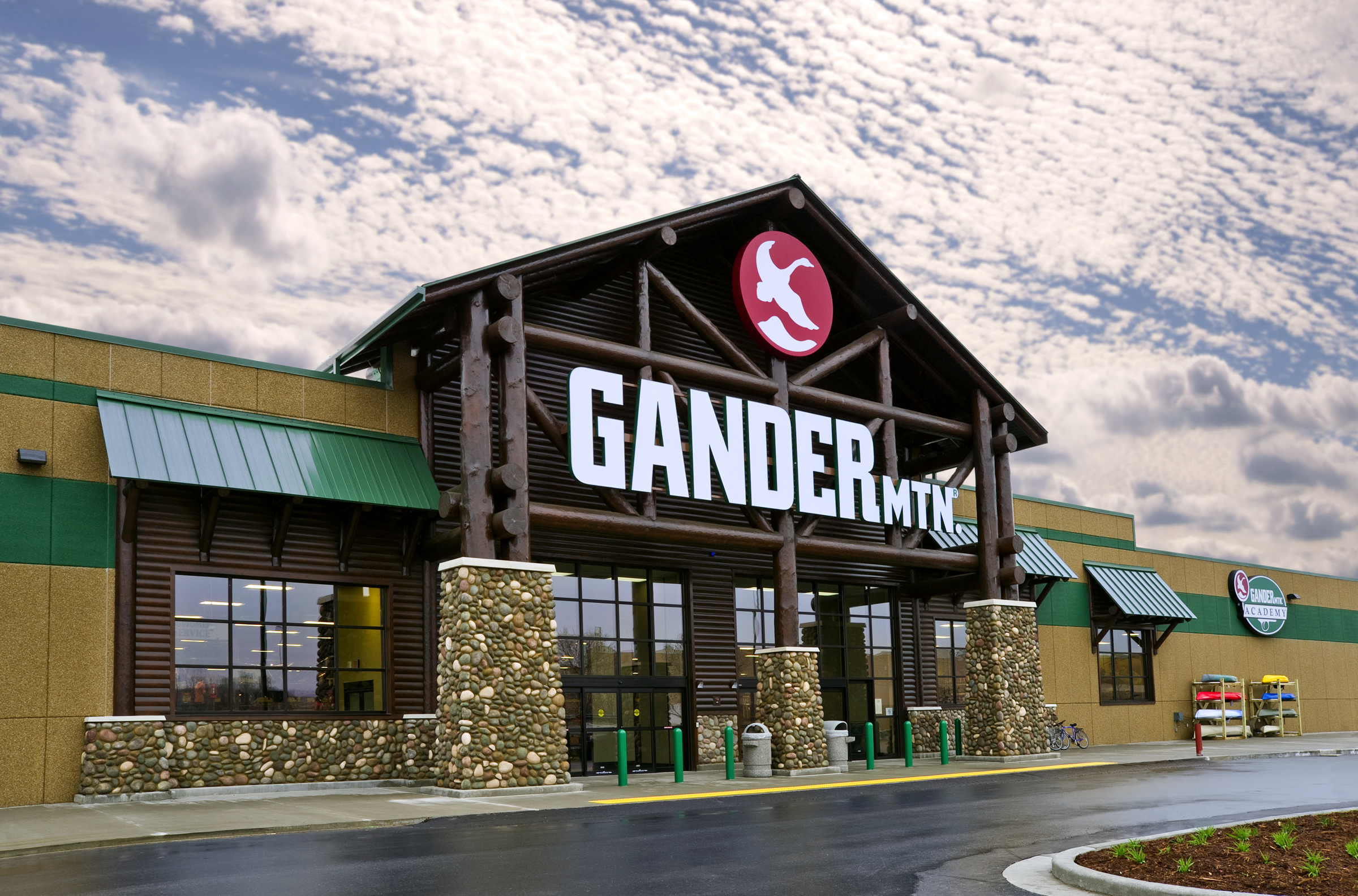 Taking a gander: Sears, Roebuck and Co. and Gander Mountain Inc. announced they have reached agreement to test two catalogs this spring featuring fishing, camping and related outdoor equipment.