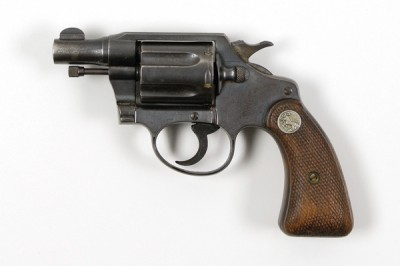 Bonnie Parker's .38 Revolver