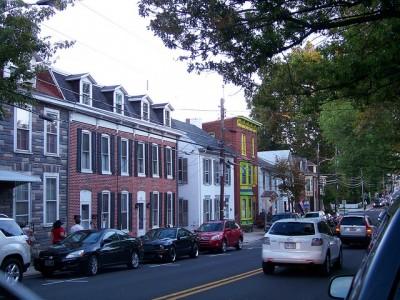 Baltimore Street in Gettysburg, Pennsylvania