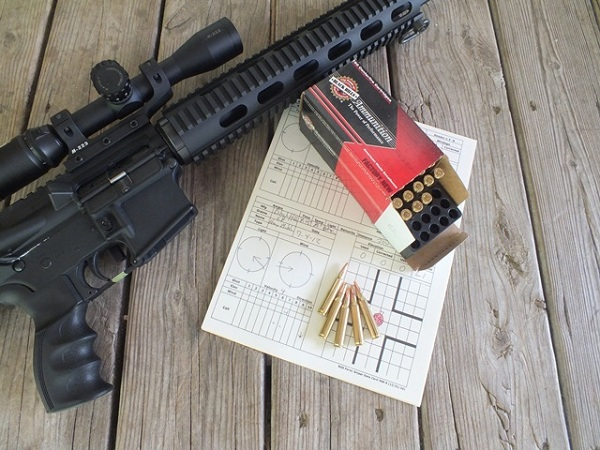 "For 1 in 9"" twist barrels, the 68 grain Heavy Match Black Hills Red Box is as good as it gets for long range."
