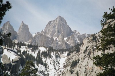 Mount Whitney one of California's 14ers