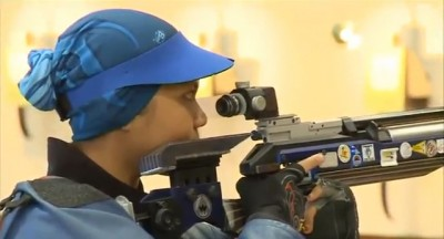 Nur Suryani at ISSF World Cup Series 2010