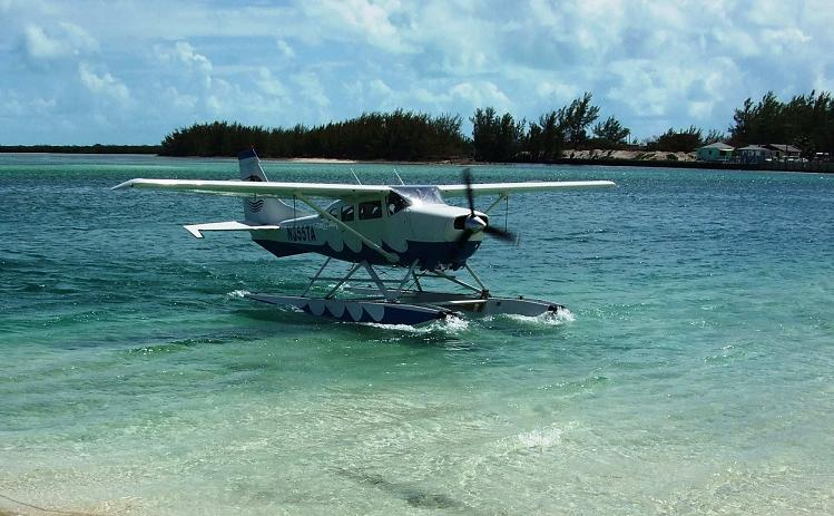 Tropic landing in Bimini 2012
