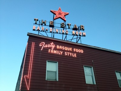 The famous Star restaurant in Elko NV