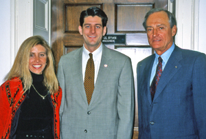 In 2003, Congressman Paul Ryan led ATA efforts to amend the federal excise tax on arrows along with Michele Eichler of Muzzy Products and Jim Easton of Jas. D. Easton Inc.