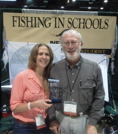 Katie M. Cole, Program Director for the National Fishing in Schools Program 