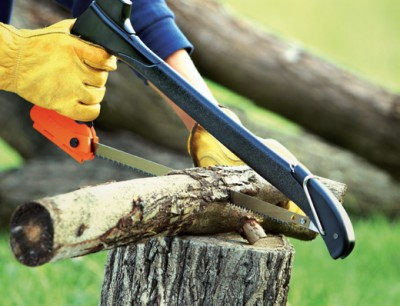 Zippol 4-in-1 Woodsman functioning as a saw