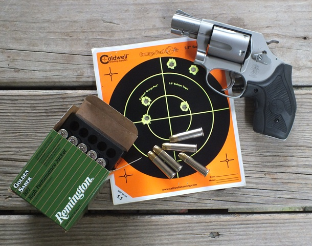 "Twenty-five yards, a Smith & Wesson 637 with a two-inch barrel, and an honest-to-God 3"" group. Impressive indeed."