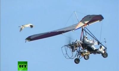 flying putin