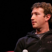 Mark Zuckerberg at the TechCrunch in San Francisco, 2009.