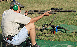 Steve Conover of Jamestown, Ky., won the 12 Gauge Open and 20 Gauge Open competitions at the NWTF World Still Target Championship, Oct. 5-7 in Edgefield, S.C.