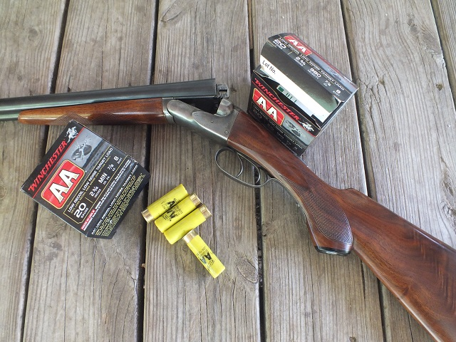 In addition to making a great trainer shell, the Low Noise/Low Recoil shell will be a boon to owners of vintage guns like this 1912 Fox Sterlingworth.