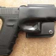 Glock 17 in holster