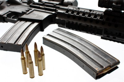 An AR-15 and magazines (not the Magpul PMAGs that Brownells specifically mentioned in their post)