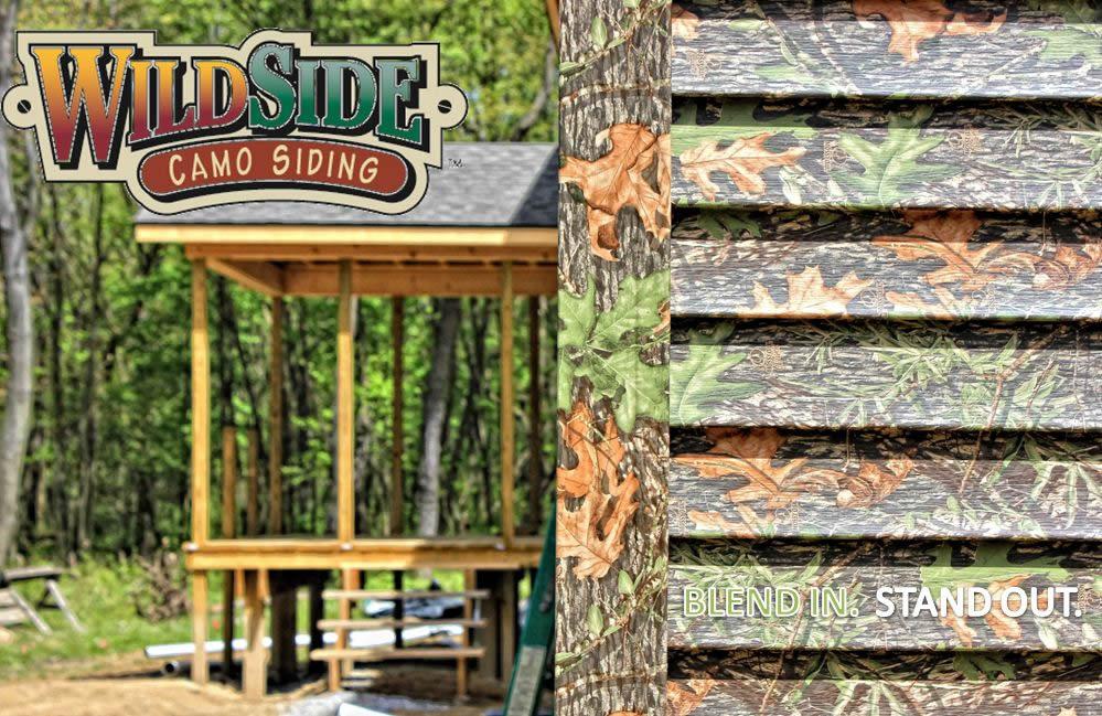 Wildside Offers Vinyl Siding In Mossy Oak Obsession