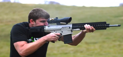FPSRussia's Kyle Myers shooting a DRD Paratus-18