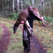Austin Kincaid trains with intensity year-round to be able to hunt in an area not open to motorized vehicles in Oregon.
