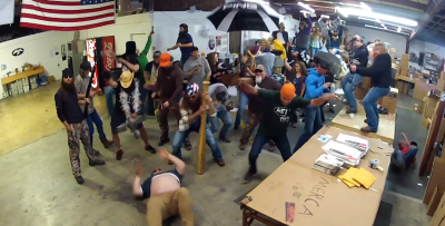 duck commander dance party