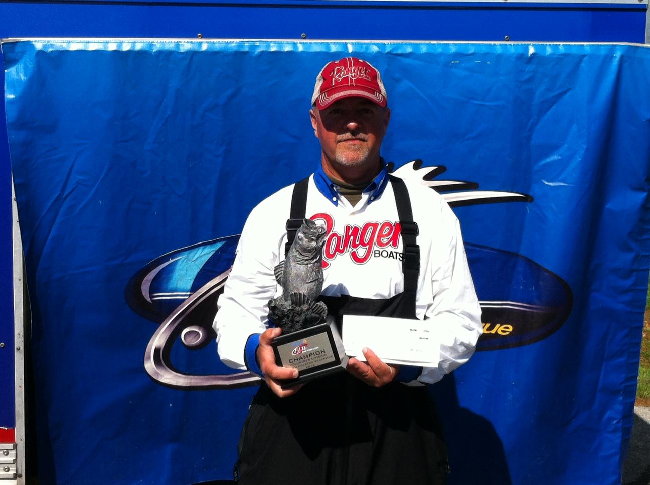 Austin wins walmart bass fishing league volunteer division for Fishing nets walmart