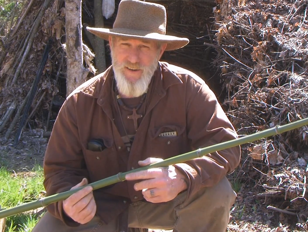 Video Dave Canterbury Shows How To Build A Cane Pole For