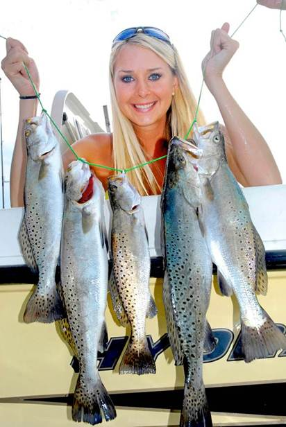 Inshore fishing tips for speckled trout and redfish in for Capt al fishing report