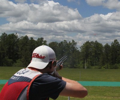 Matt Gossett pictured here during pre-competition training prior to the USAS Spring Selection Match.