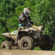 Team UXC Racing / Can-Am Renegade 800R X xc pilot Michael Swift won the U2 class and finished third on the morning podium at The Mountaineer Run GNCC.