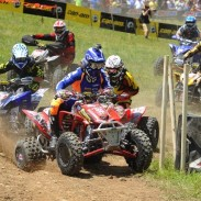 Riding on a Holeshot GNCC front and Quadcross XC rear tire combination, ITP Pro Adam McGill pulled the holeshot and then went on to win the XC1 Pro ATV class at round eight of the GNCC series in his home state of West Virginia.