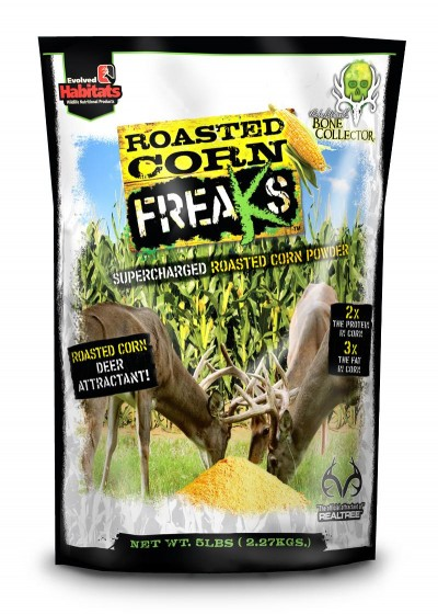 Roasted Corn Freaks draws the FREAKS you've been searching for right into your hunting area.