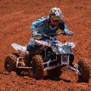 William Lloyd, using ITP Quadcross MX2 fronts and Holeshot rears, won the Junior 25 Plus class and took third in the Pro-Am class at round six.