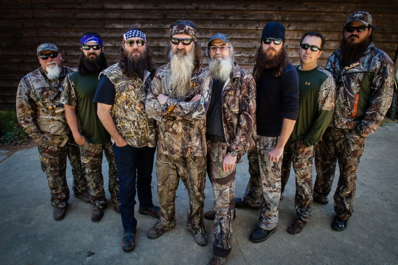 The crew of Duck Commander are excited about the prospect of getting their own Mossberg firearms, and so are their fans.