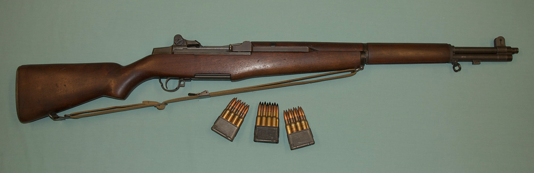 M Garand Rifle on M1 30 Carbine Stocks