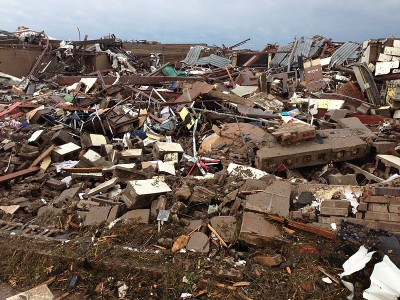 Over 33,000 people have been affected or displaced in the aftermath of the recent Oklahoma tornadoes.