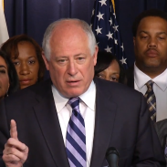 Illinois Governor Pat Quinn, whose state has been locked in a legislative limbo over the concealed possession of firearms for the past several months.