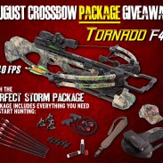 August Crossbow package giveaway