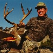 The final Pope & Young score of Dunn's California boulder buck was 113. Image courtesy Dennis Dunn.