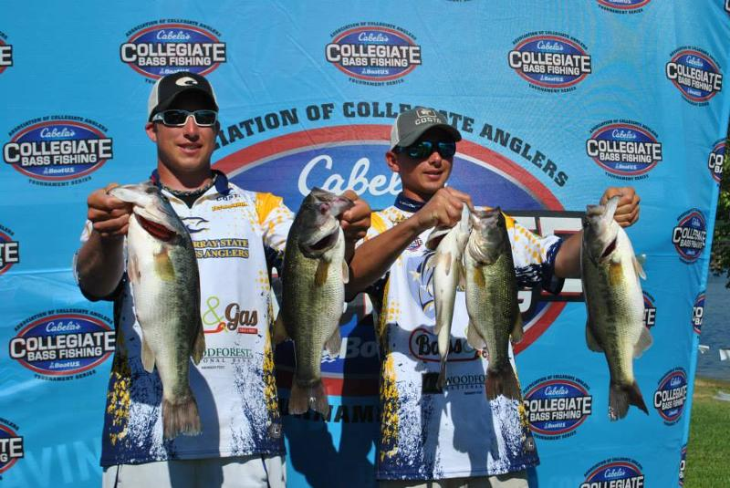 Cabela 39 s collegiate bass fishing series to air on for Cabelas college fishing